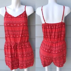 Old Navy Red Romper
